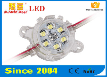 White 30mm LED Pixel Light DC24V IP67 CE Passed 30000H Lifespan